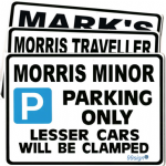 Secret Santa Gift | Fun Parking Sign Large